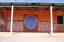 Wiluna Sport & Recreation Centre double doors